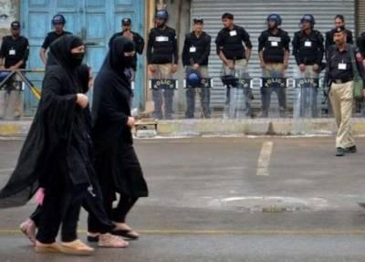 ملک بھر میں 8 محرم الحرام کے جلوسوں کیلئے سیکیورٹی سخت,موبائل فون سروس بند