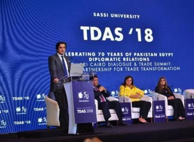 قاہرہ : سی پیک ڈائیلاگ اورٹریڈ سمٹ کاآغاز،مصرکی پاکستان کو تعاون کی یقین دہانی