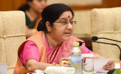 سشما سوراج سارک وزرائے خارجہ کا اجلاس ادھورا چھوڑ کر چلی گئیں,شاہ محمود قریشی سے ملاقات ہی نہ ہوئی