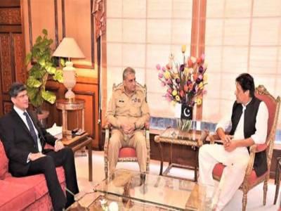 وزیر اعظم سے آرمی چیف اور ڈی جی آئی ایس آئی کی ملاقات