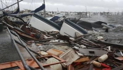 """سمندری طوفان""""مائیکل """"کی فلوریڈا میں تباہی '2اافراد ہلاک"""