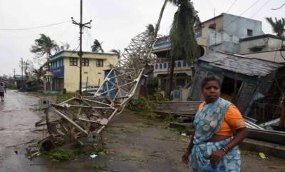 بھارت:سمندری طوفان تتلی سے ہلاکتوں کی تعداد 9ہوگئی