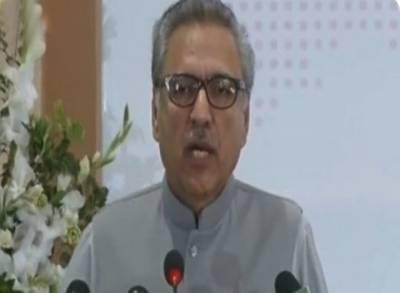 مسئلہ کشمیر جنوبی ایشیا میں تنازعے کی بنیادی وجہ ہے:صدر پاکستان