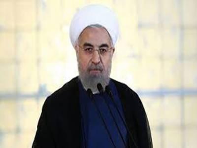 امریکا ایران میں حکومت کی تبدیلی کا خواہشمند ہے: حسن روحانی