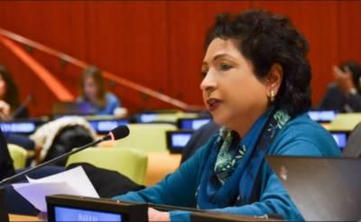 مسئلہ کشمیر کو حل کیے بغیر اقوام متحدہ کے عالمی امن کے ایجنڈے کو مکمل نہیں کیا جا سکتا:ملیحہ لودھی