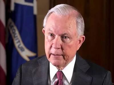 امریکی صدر نے اٹارنی جنرل جیف سیشنز کو عہدے سے ہٹا دیا