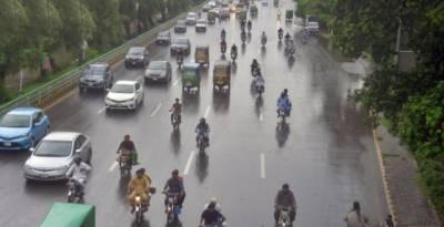 لاہور میں ہلکی بارش,سردی کی شدت میں اضافہ