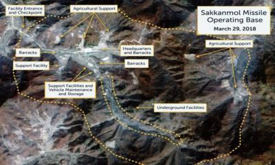 شمالی کوریا بیلسٹک میزائلوں کی تیاری میں مصروف