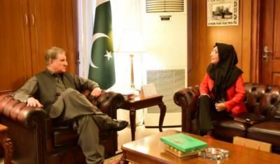 شاہ محمود قریشی کی عافیہ صدیقی کی بہن سےملاقات،کیس میں کی جانے والی کاوشوں سے آگاہ کیا