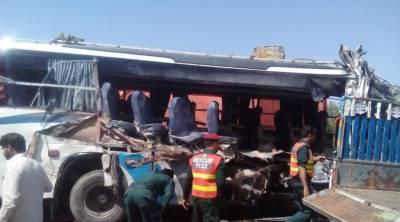 میانوالی روڈ اورلاہورکے قریب دوٹریفک حادثات میں 7 افراد جاں بحق،34 زخمی