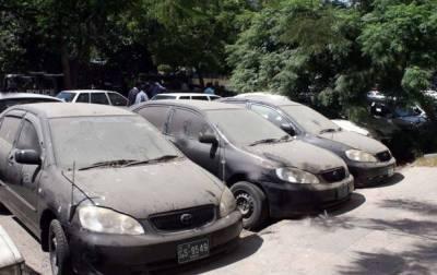 سندھ حکومت کی کئی ناکارہ گاڑیاں غائب ہونے کا انکشاف
