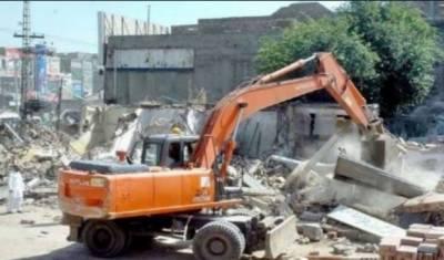 کراچی تجاوزات آپریشن: ایک ماہ میں 7 ہزار دکانیں اور 10ہزار سے زائد سن شیڈ مسمار
