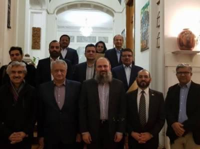 وزیراعلی بلوچستان جام کمال خان اور ڈاکٹر جمعہ مری کی ماسکو میں اہم ملاقات