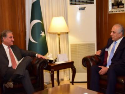 پاکستان افغانستان میں سیاسی مفاہمت کیلئے تعاون جاری رکھے گا،وزیر خارجہ شاہ محمود قریشی