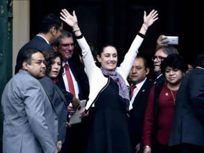 پہلی مرتبہ میکسیکو شہر کی خاتون سربراہ منتخب