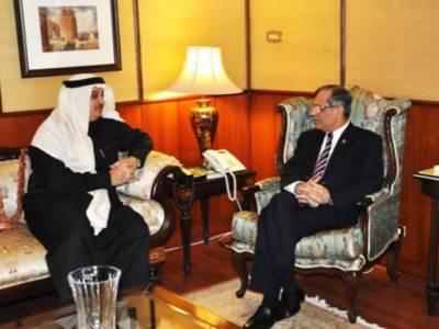 سعودی سفیر نواف بن سعد المالکی کی چیف جسٹس میاں ثاقب نثارسے ملاقات