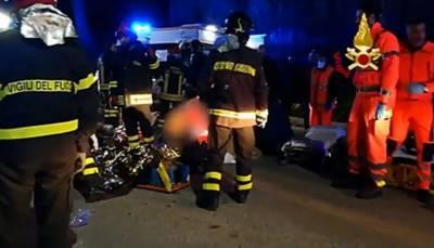 اٹلی: نائٹ کلب میں اچانک بھگدڑ مچنے سے 6افراد ہلاک،درجنوں زخمی