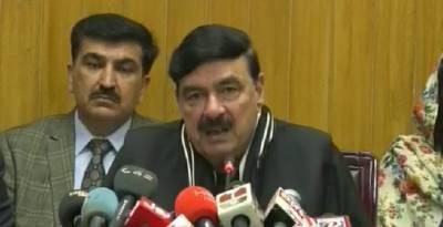 لاہور اور راولپنڈی کے درمیان ایک اور ٹرین چلانے کا منصوبہ ہے: شیخ رشید