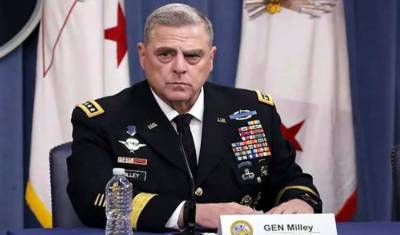ڈونلڈٹرمپ کاجنرل مارک کو اپنا آئندہ اعلیٰ فوجی مشیر نامزد کرنے کا اعلان