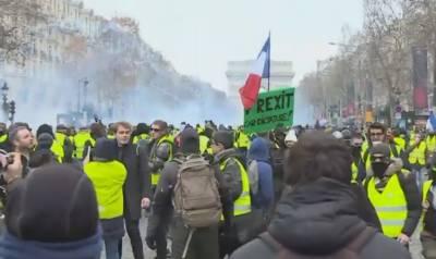 پیرس چوتھے ہفتے بھی میدان جنگ بنا رہا،پرتشدد مظاہرے