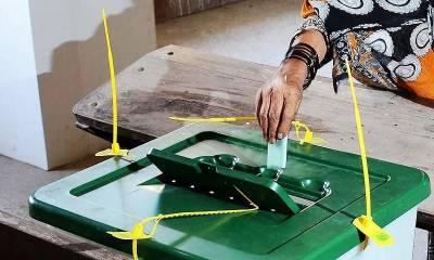 سندھ اور کے پی میں بلدیاتی نشستوں پر ضمنی انتخاب جاری