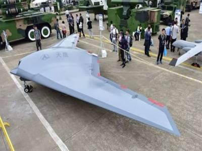 مسلسل 40 گھنٹے پرواز کرنے والا چین کے پہلے جاسوس اسٹیلتھ ڈرون کی فوٹیج کو ریلیز