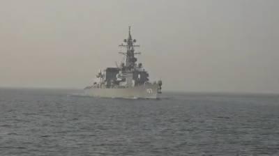 جاپانی بحریہ کے جہاز کا کراچی بندرگاہ کا دورہ