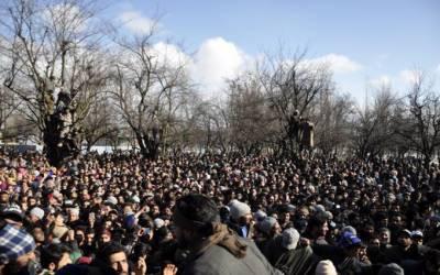 بھارتی فوج کی جارحیت تھم نہ سکی، جنازے کے اجتماع پر فائرنگ