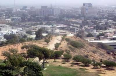 کراچی:ہل پارک میں تجاوزات کیخلاف کارروائی