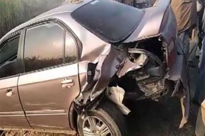 خیر پور میں 3 گاڑیاں آپس میں ٹکرا گئیں,3 افراد جاں بحق،5زخمی ہوگئے