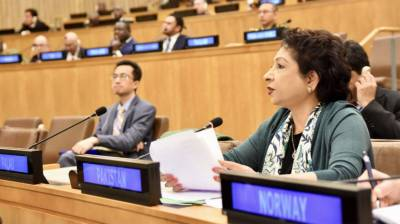 پاکستان کابھارت اورپاکستان میں اقوام متحدہ کے فوجی مبصرگروپ کو مزید موثربنانے کیلئے اپنی حمایت کااعادہ