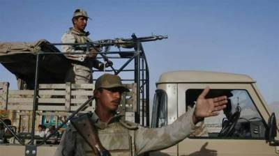 بلوچستان: دہشتگرد حملے میں 4سکیورٹی اہلکار شہید
