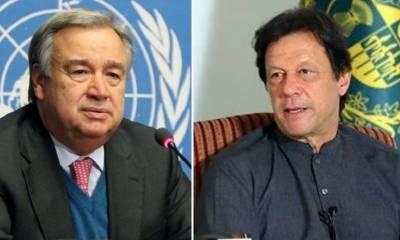 اقوام متحدہ کے سیکرٹری جنرل کا وزیراعظم عمران خان کے بھارتی پائلٹ کی رہائی کے فیصلے کا خیرمقدم