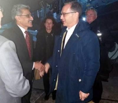 جرمنی کے وزیر خارجہ ہائیکوماس پاکستان پہنچ گئے