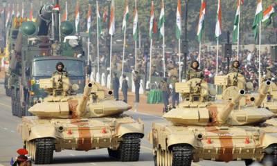 بھارت 2014 سے 2018 تک ہتھیار درآمدکرنے والا دنیا کادوسرابڑاملک