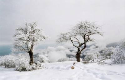 ملک بھر میں درجہ حرارت میں بڑھنے لگا،برف باری جاری