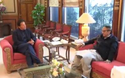 وزیر اعظم عمران خان سے چوہدری شجاعت حسین کی ملاقات, ملکی مجموعی و سیاسی صورتحال پر تبادلہ خیال
