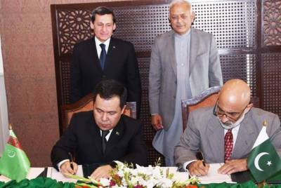 پاکستان، ترکمانستان نے تاپی گیس پائپ لائن کے معاہدے پر دستخط کر دیئے