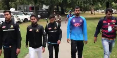 نیوزی لینڈ : بنگلا دیش کے درمیان تیسرا ٹیسٹ منسوخ