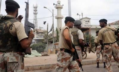 کراچی کے مختلف علاقوں میں رینجرز کی کارروائیاں, 3 ملزمان گرفتار