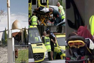 نیوزی لینڈ:2 مساجد پر نماز جمعہ میں فائرنگ، 40 نمازی شہید،متعدد زخمی