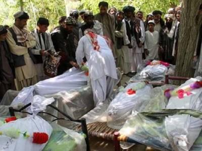 قندوز میں بمباری سے13شہری اور ہلمند دھماکے میں 4افراد جاں بحق،ہلمند کے گورنر زخمی