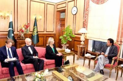 وزیراعظم عمران خان سے یورپی یونین نمائندہ فریڈریکا کی اپنے وفد کے ہمراہ ملاقات