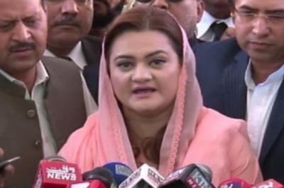 عمران خان این آر او کی جھوٹی رٹ لگاکر قوم کو بیوقوف نہیں بنا سکتے: مریم اورنگزیب