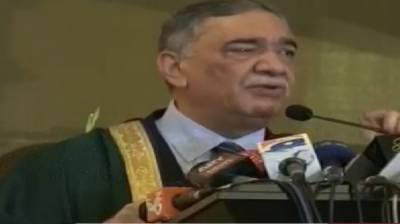 وکالت ایک مقدس پیشہ,وکیل معاشرے کی بہتری کیلیے لڑتا ہے:جسٹس آصف سعید کھوسہ
