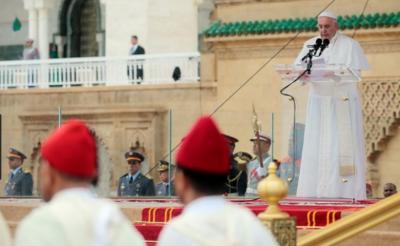 دہشت گرد جوکر رہے ہیں وہ مذہب نہیں: پوپ فرانسس