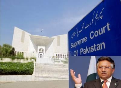 مشرف کی 2مئی کو عدم پیشی پرخصوصی عدالت استغاثہ کو سن کر فیصلہ کرے،پیش نہ ہونے پر دفاع کا حق ختم ہو جائیگا:سپریم کورٹ