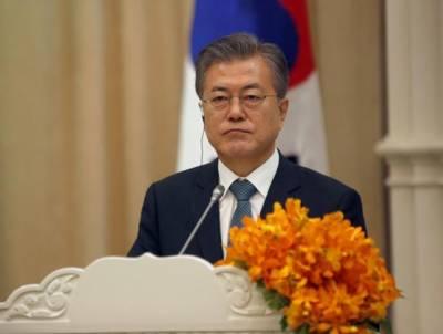شمالی کوریااورامریکہ نےمذاکرات جاری رکھنےکاعزم ظاہرکیاہے:مون جے اِن
