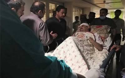 وفاقی وزیر سردار علی محمد مہر کو بٹ مار کر زخمی کردیا گیا