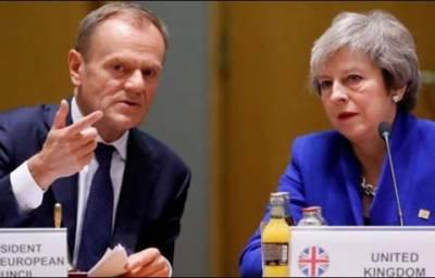 برطانیہ کو یورپی یونین سے اخراج کے لیے ایک سال کی مہلت دینے کی تجویز